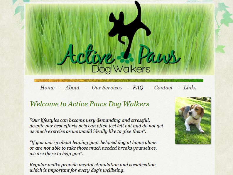 Active Paws Dog Walkers
