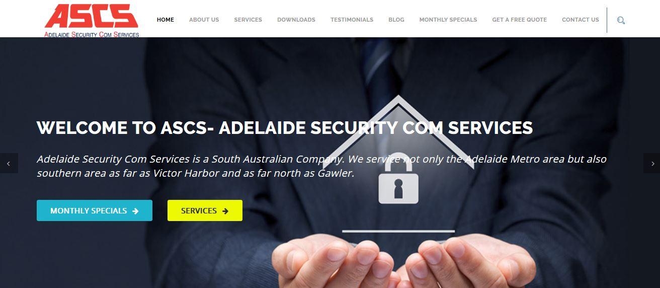 Adelaide Security Com Services