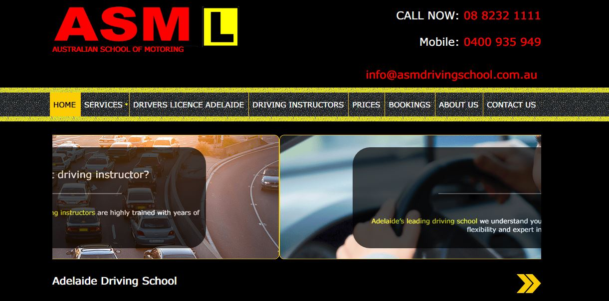 Australian School Of Motoring
