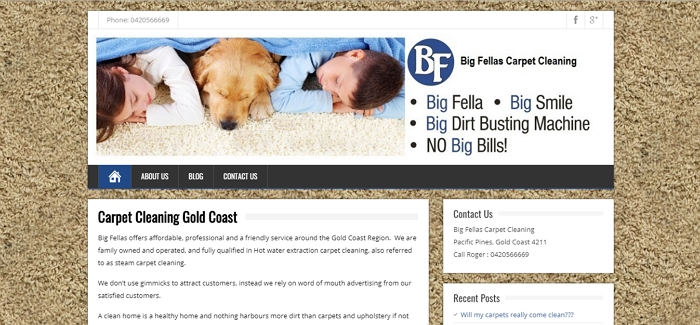 Big Fellas Carpet Cleaning Gold Coast