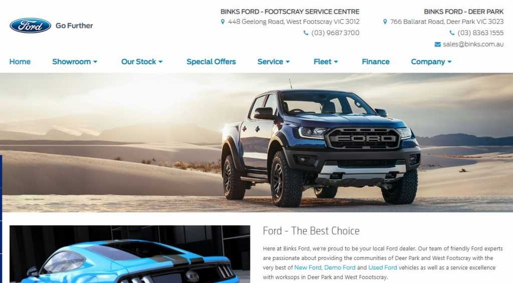 Best Ford Dealers in Melbourne