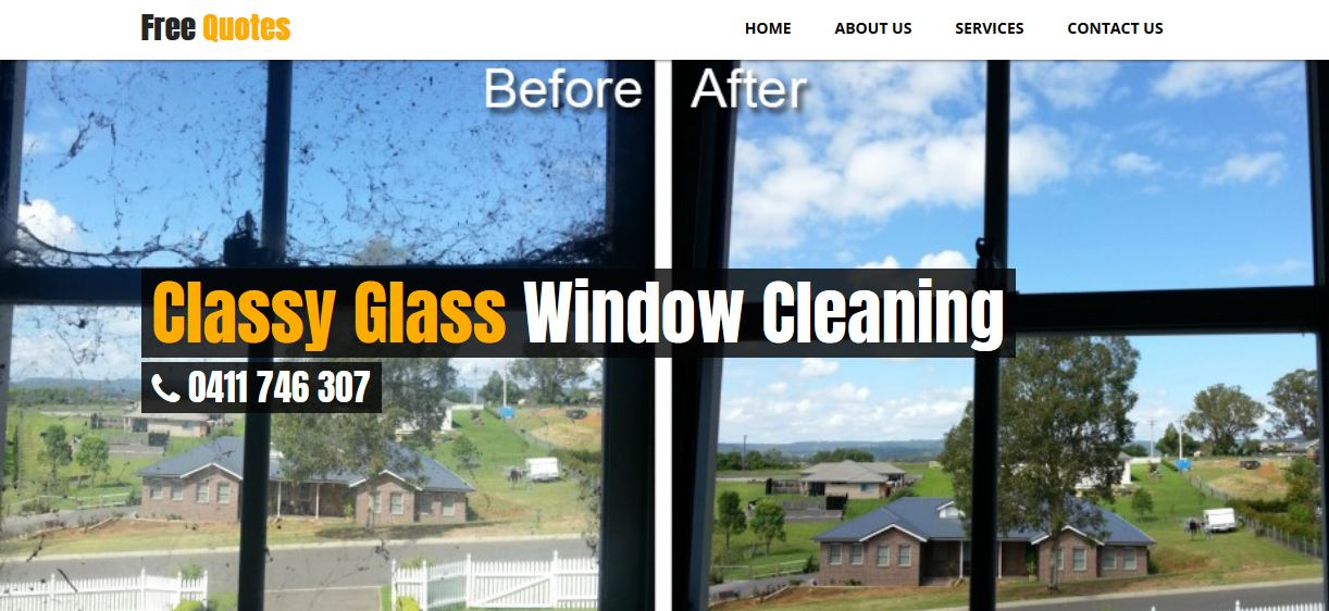 Classy Glass Window Cleaning