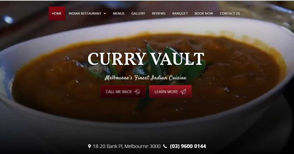 Best Indian Restaurants in Melbourne