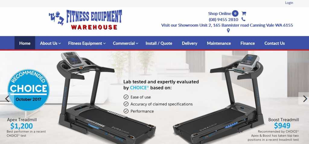Fitness Equipment Warehouse