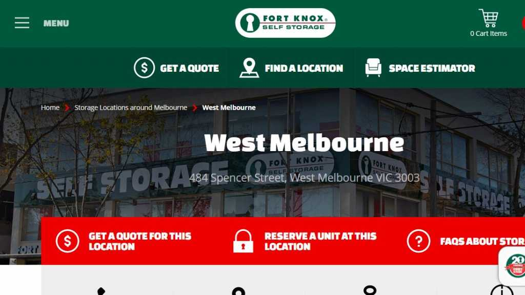 Best Self Storages in Melbourne