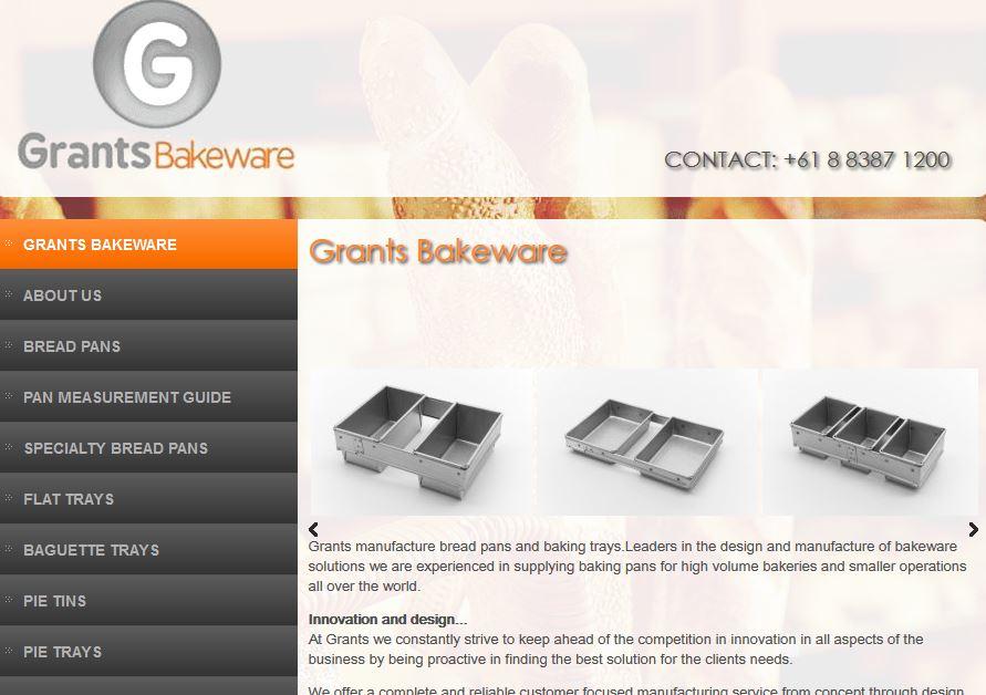 Grants Bakery Equipment