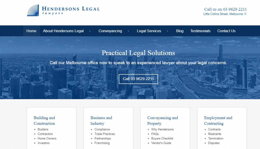 Best Contract Lawyers in Melbourne