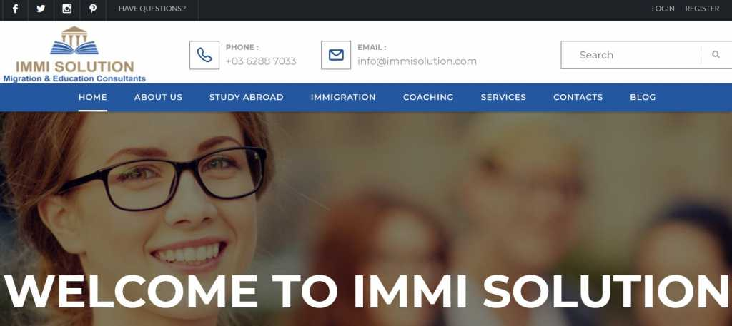 IMMI SOLUTION - Migration & Education Consultants
