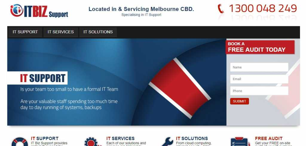 Best IT Biz Support in Melbourne