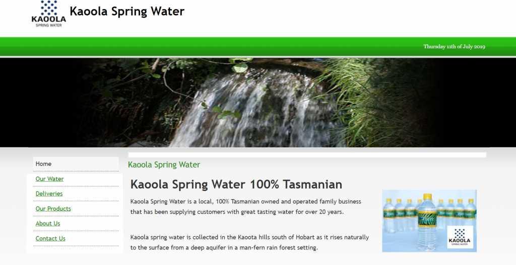 Kaoola Spring Water
