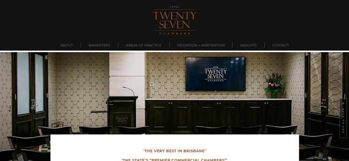 Level Twenty Seven Chambers