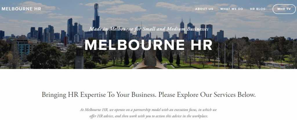 Best Human Resource Consultant in Melbourne