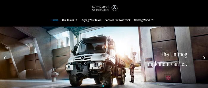 Mercedes-Benz Unimog Centre