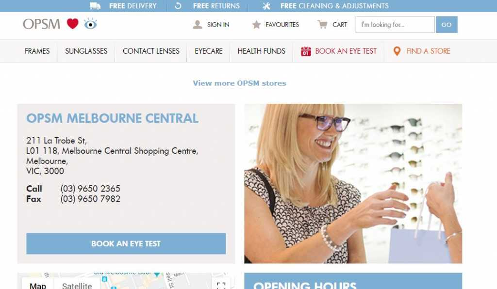 Best Opticians in Melbourne
