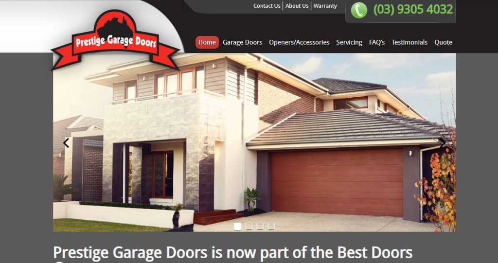 Best Garge Door Repairs in Melbourne