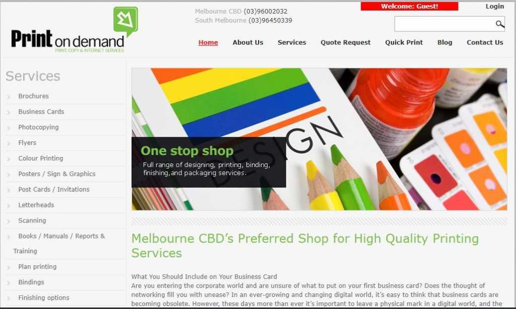 Best Printing Companies in Melbourne