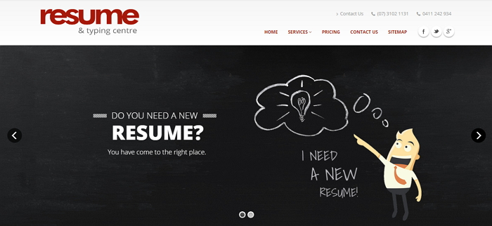 Resume & Typing Centre