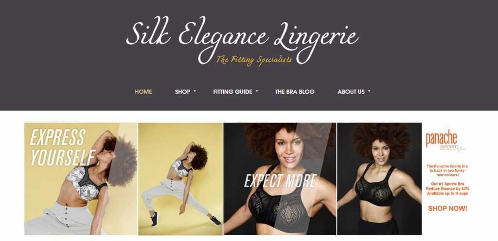 Silk Elegance Lingerie