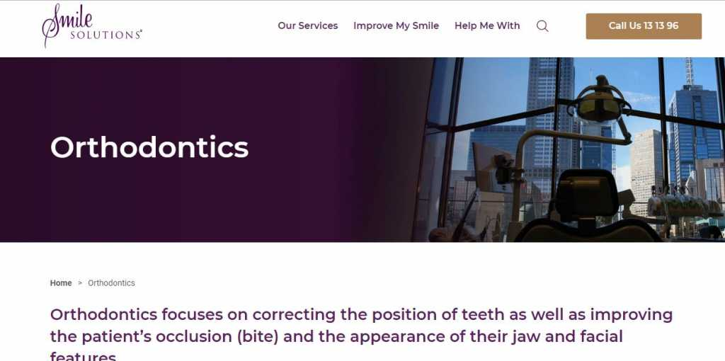 Best Orthodontics in Melbourne