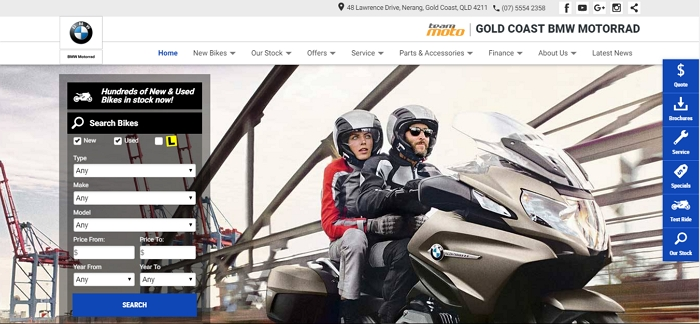 TeamMoto BMW Gold Coast