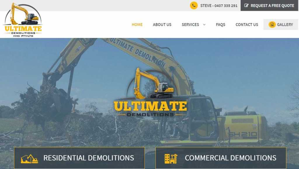 Best Demolition Contractors in Melbourne