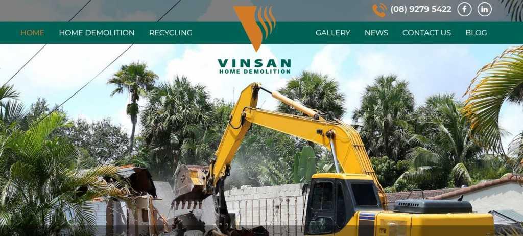 Vinsan Home Demolition