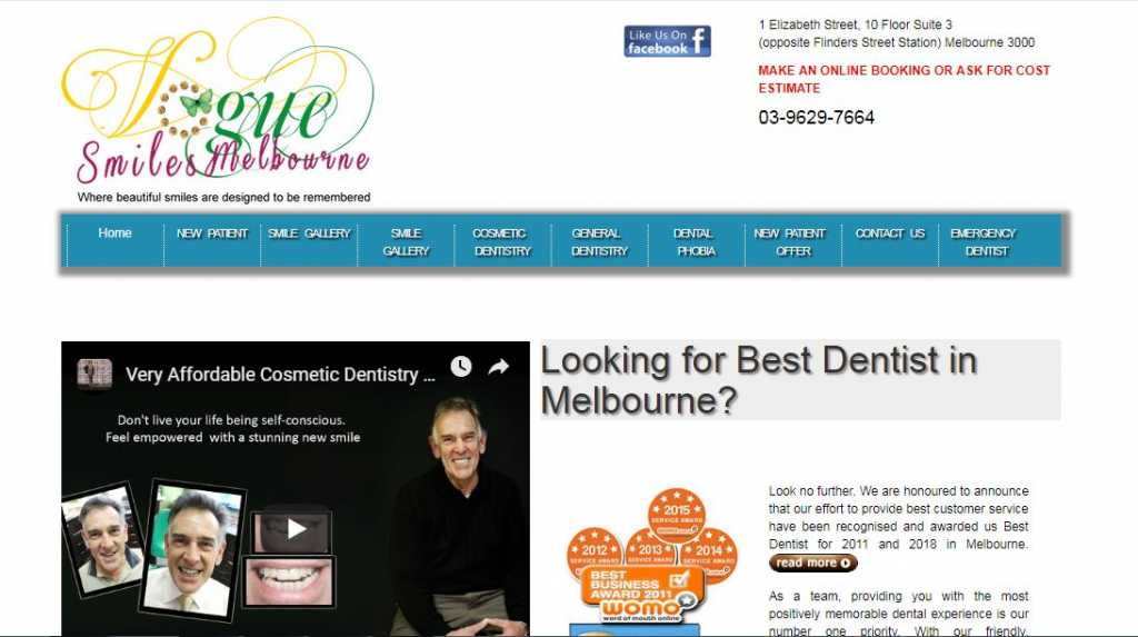 Best Cosmetics Dentists in Melbourne