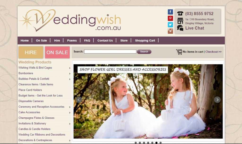 Best Wedding Supply Stores in Melbourne