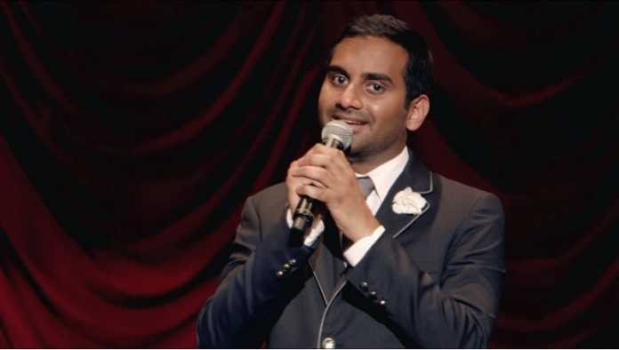 Aziz Ansari returns to the screen for the first time since sexual misconduct allegation