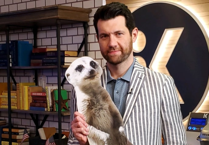 "Billy Eichner was ""panicking"" prior to meeting Prince Harry and Meghan Markle"