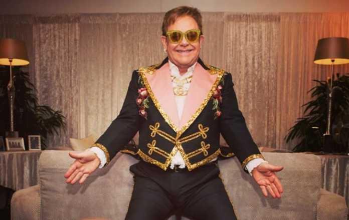 Legendary performer Elton John celebrates almost 30 decades of sobriety