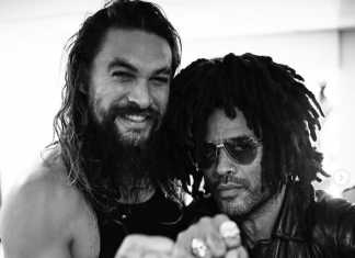"Lenny Kravitz on Jason Momoa: ""he's like a brother to me"""