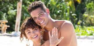 "Wells Adams on proposal to Sarah Hyland: ""there's so much stress"""