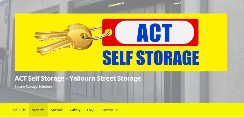 Best Self storage Storage in Canberra