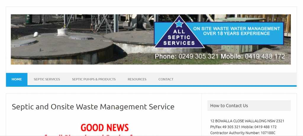 All Septic Services