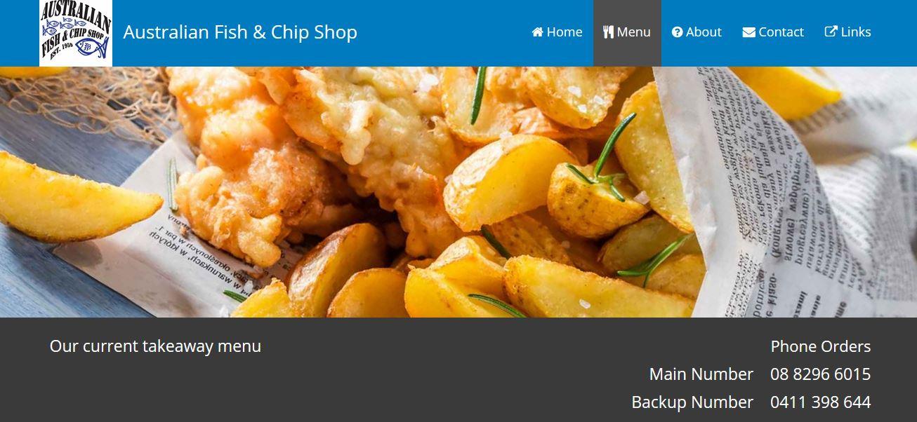Australian Fish & Chip Shop