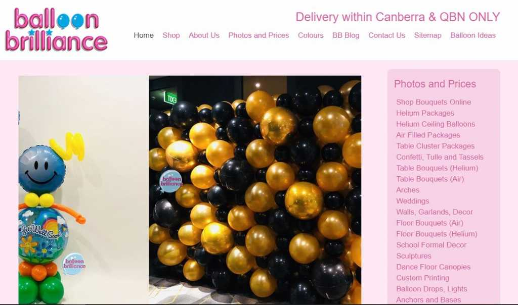 Best Balloon Stores in Canberra