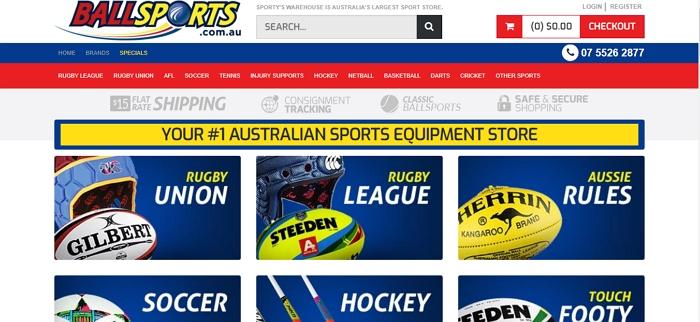 Ballsports.com.au
