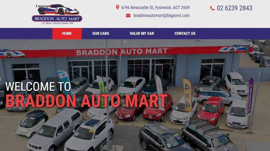 Best Car Dealers in Canberra