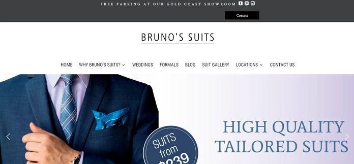 Bruno's Suits