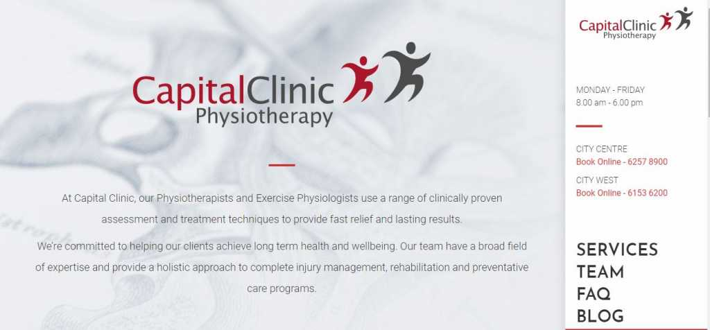 Best Physiotherapy Clinics in Canberra