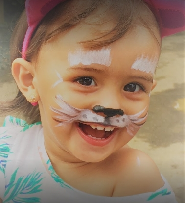 Colour of Happiness Professional Face Painting