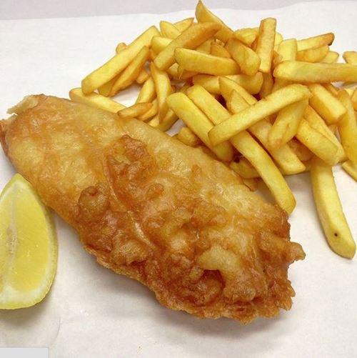 Crisp Fish & Chips