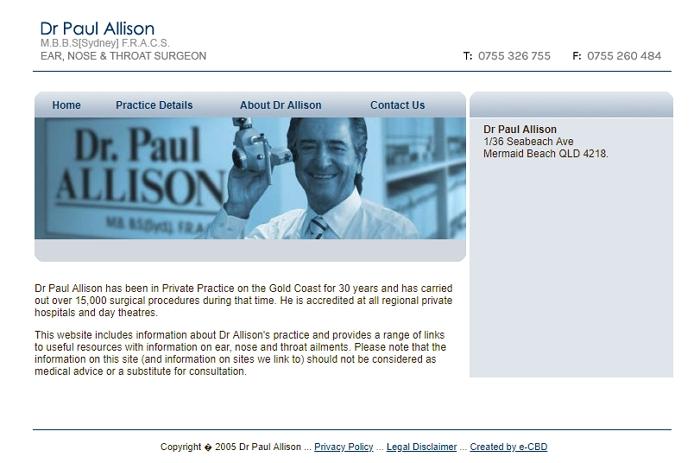 Dr. Paul Allison