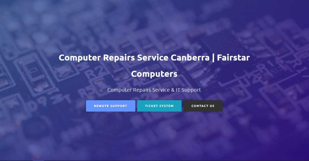 Best Computer Repair Services in Canberra