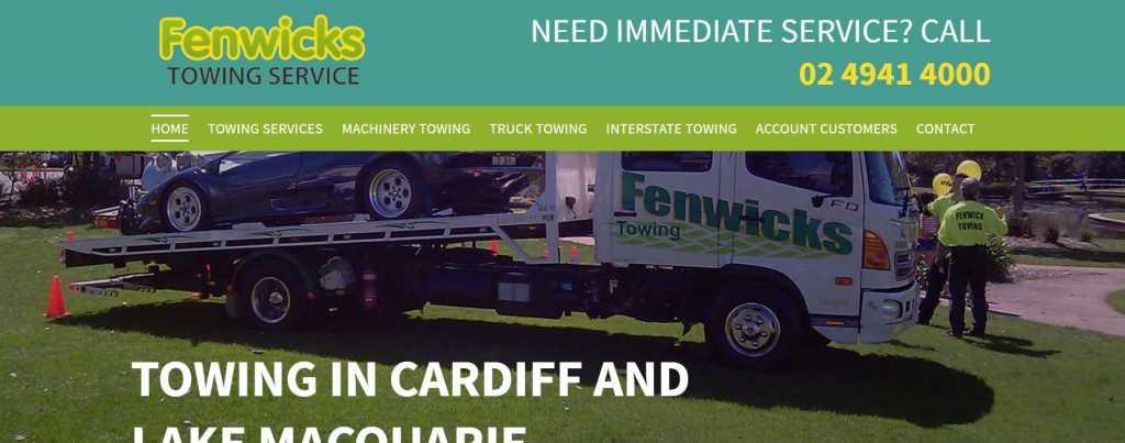 Fenwicks Towing Service