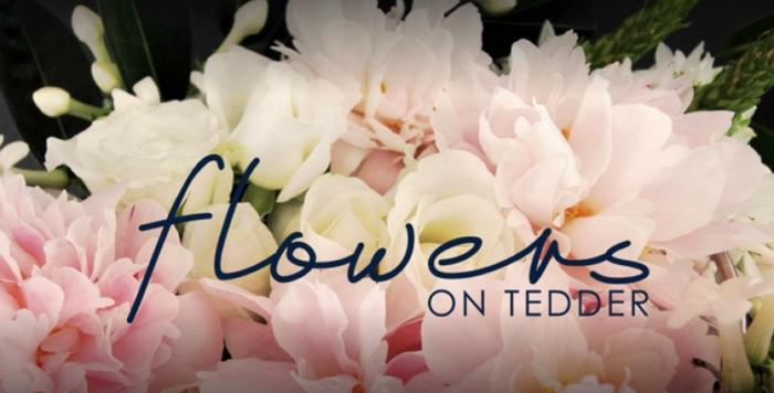 Flowers on Tedder