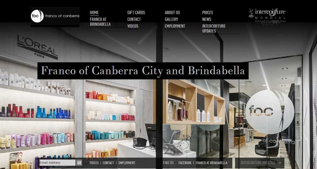 Best Hairdressers in Canberra