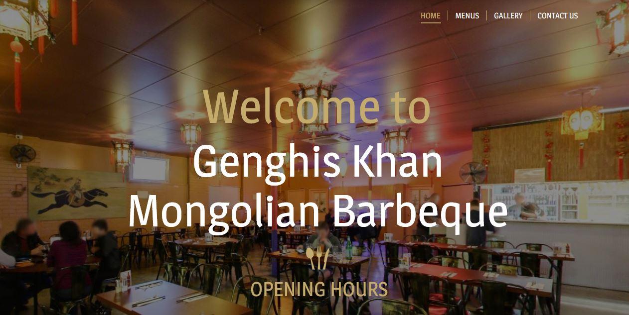 Genghis Khan Mongolian BBQ Restaurant