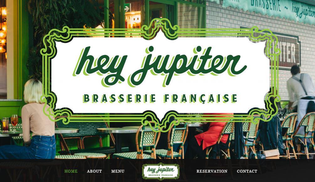 Hey Jupiter Brasserie Francaise